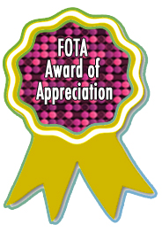 FOTA Award of Appreciation